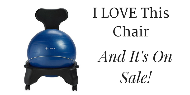let me tell you the story of my old office chair it u201cfell off the back of a trucku201d about fifteen years ago it only had one arm the wheels stuck - Gaiam Ball Chair