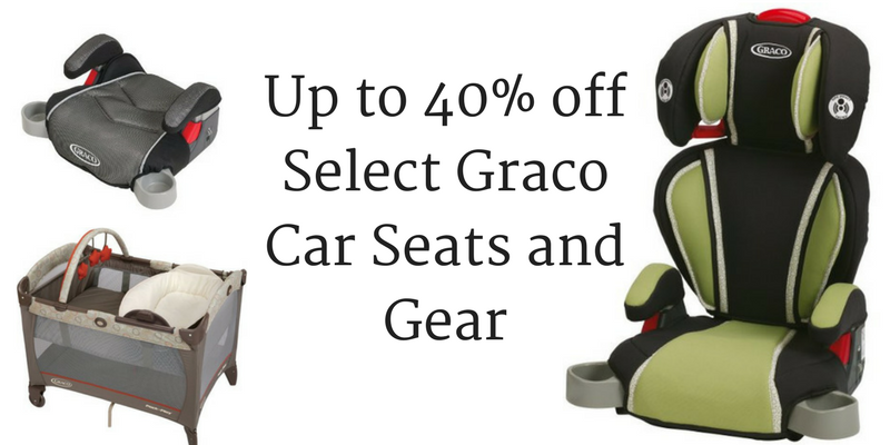 Amazon Up To 40 Off Select Graco Car Seats And Gear
