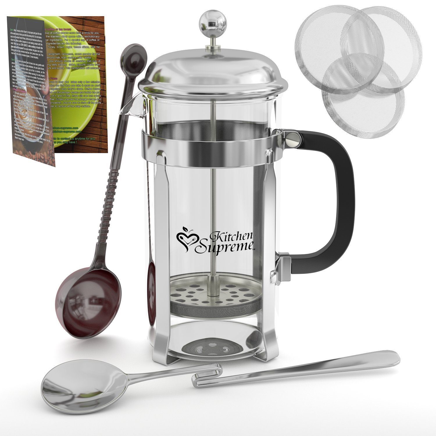 french press 1 Stainless Steel French Press Amazon