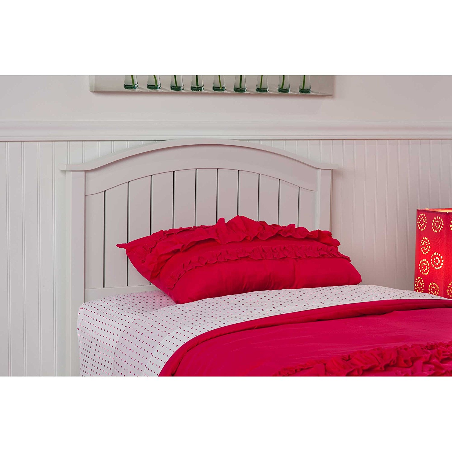 Amazon Finley Wooden Headboard Panel With Curved Top Rail