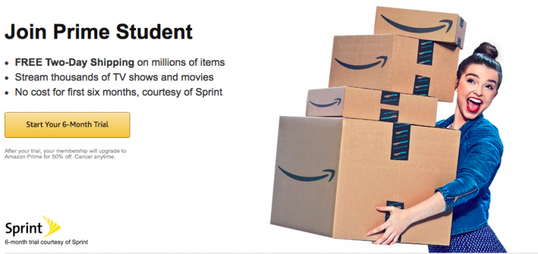 470f0ca225fe If you have an active .edu e-mail address you can grab this AWESOME deal on  Amazon Prime Student. You can start a FREE 6 month trial and after that is  over ...