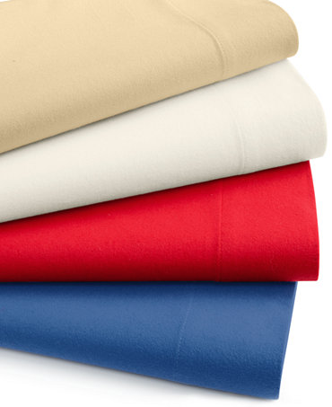 Macy S Martha Stewart Cotton Flannel Sheet Sets On Closeout As Low As 14 97 Plus An Additional 15 Off
