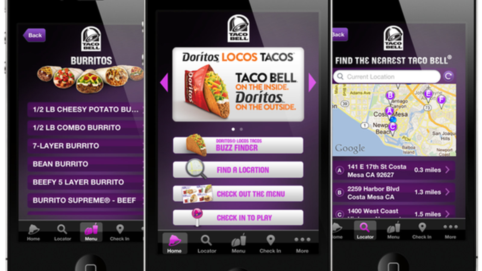 taco bell mobile app  additional savings on orders with