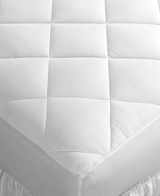 macy 39 s home design mattress pads down alternative