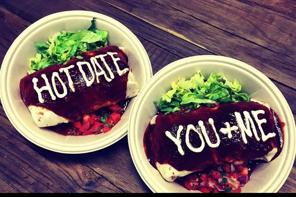 Qdoba Buy One Get One Free Entrees On Valentine S Day