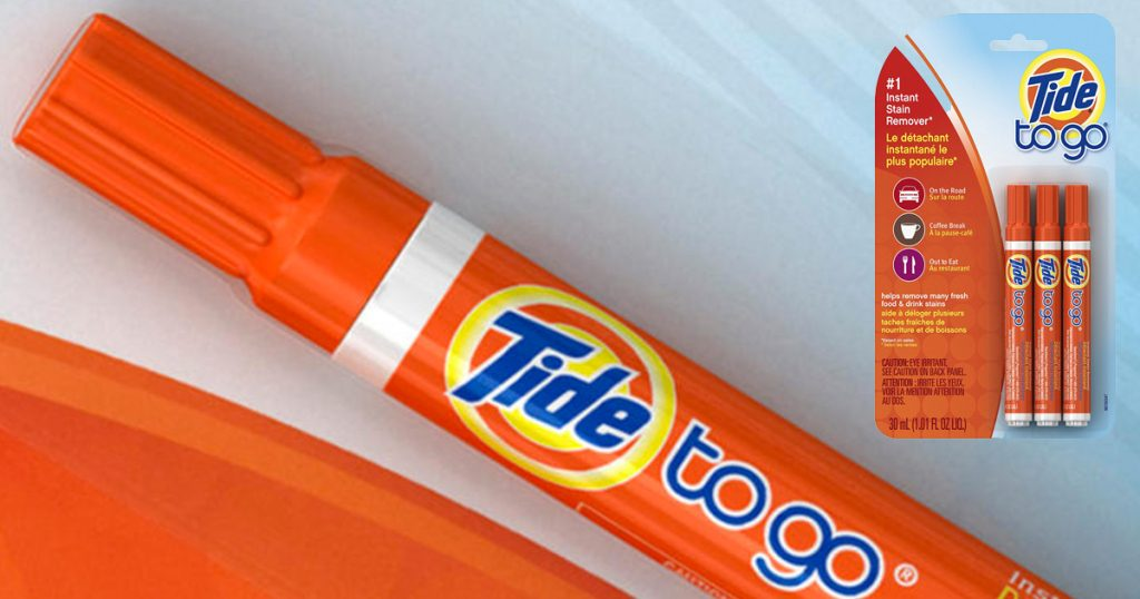 Amazon Prime Tide To Go Instant Stain Remover Liquid Pen