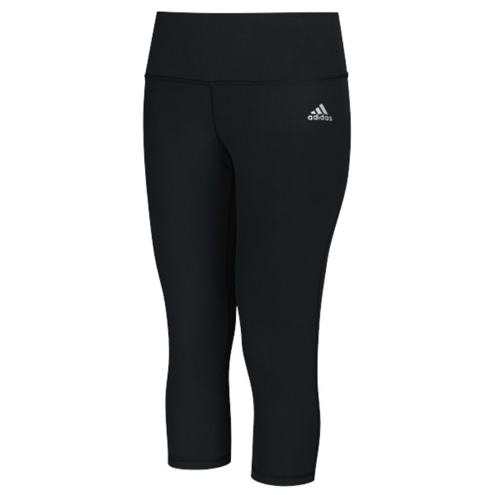 fe1bf1f96d5b adidas Women s CLIMALITE 3 4 Capri Mid-Rise Workout Leggings (Lots of  Sizes)  15.95 Shipped (Or Cheaper If You Buy 2)