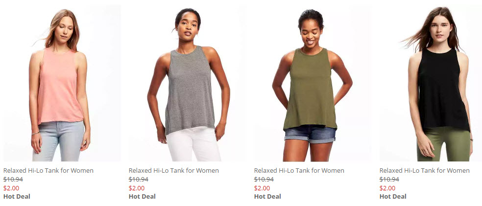 273006eed50f80 Old Navy   2 Tank Top Sale