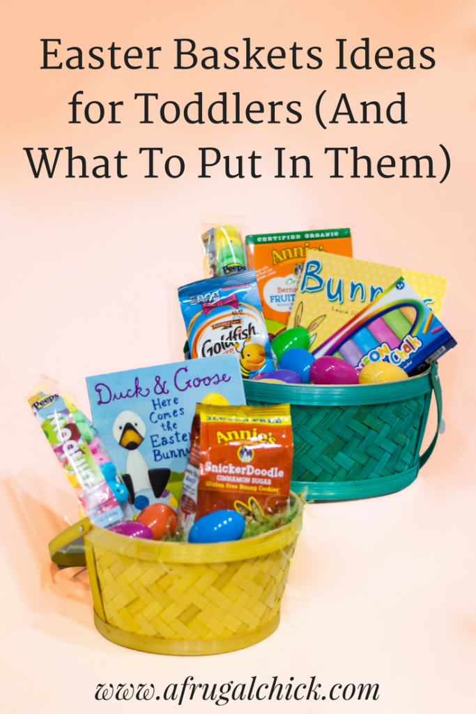 Easter baskets for toddlers easter baskets for toddlers and what to put in them check out these negle Choice Image