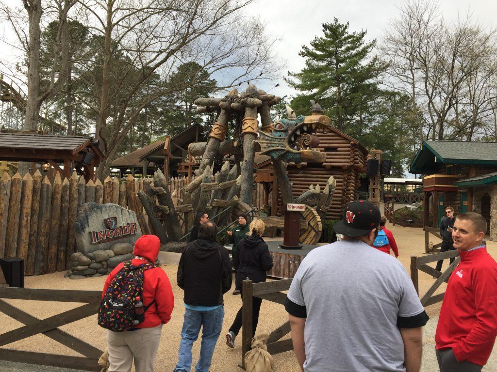 Busch Gardens Williamsburg InvadR Video (Of Me At The Most ...