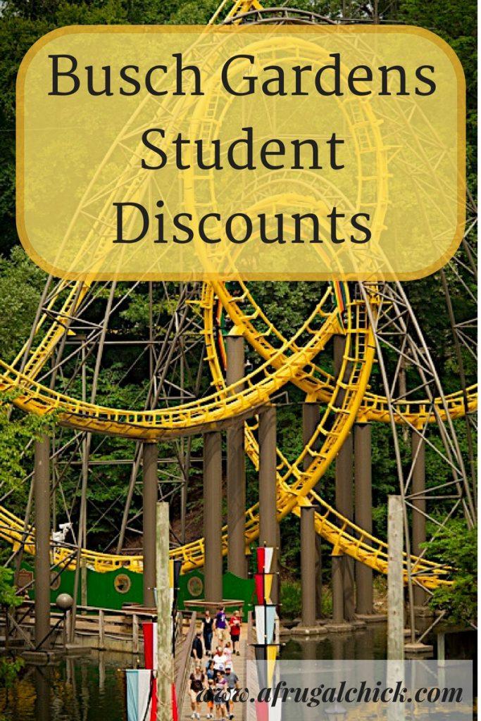 Busch gardens student discount Busch gardens pass member benefits