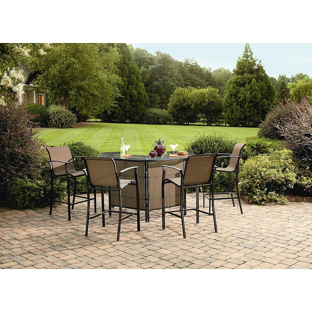 Sears spring black friday several 7 piece outdoor dining for Outdoor patio bars for sale