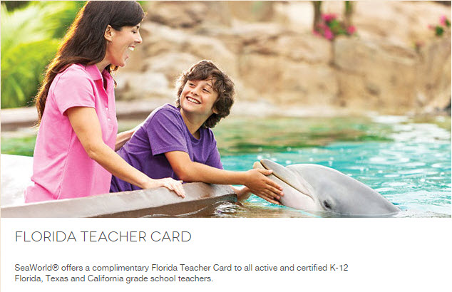 SeaWorld Teacher