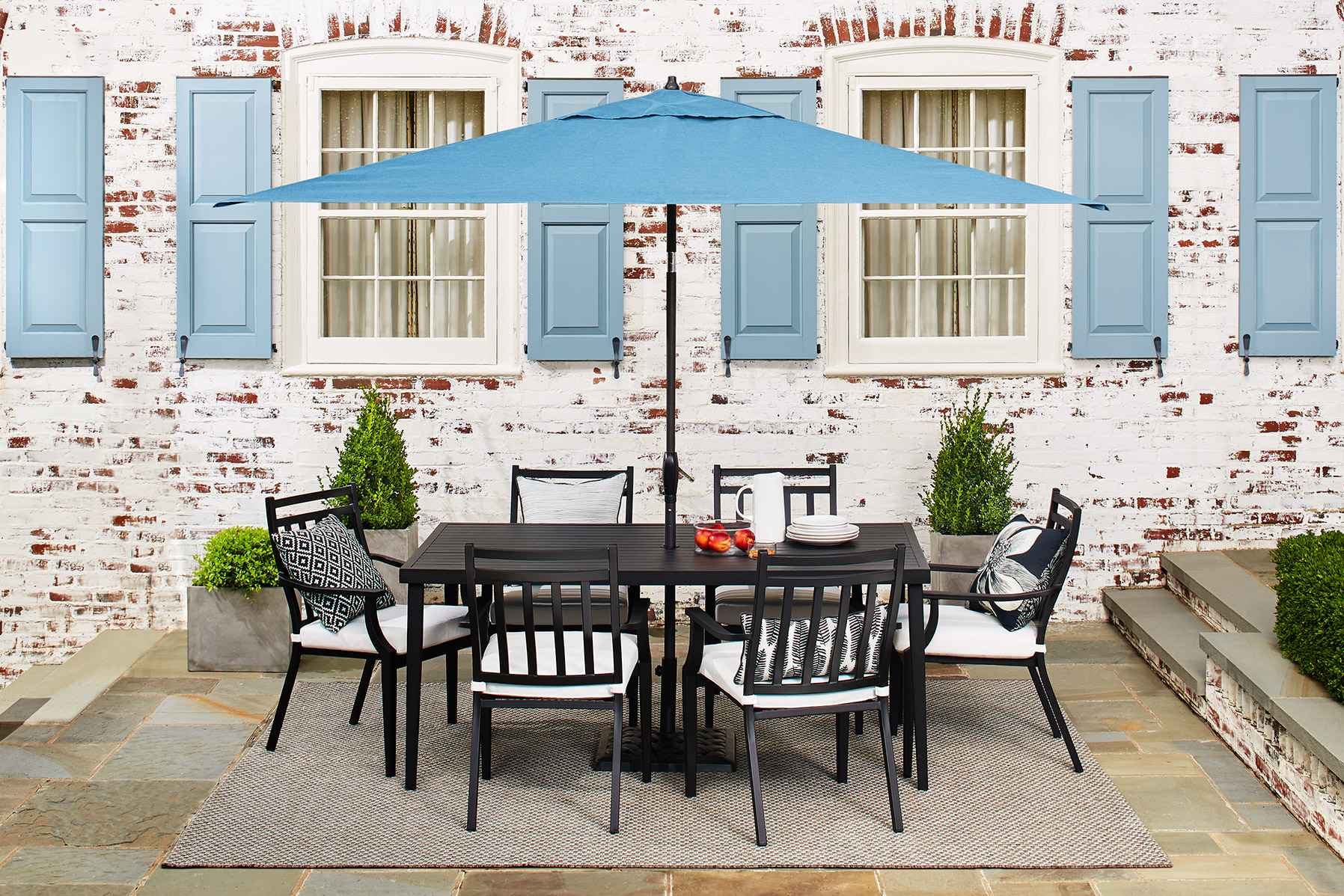 concept of umbrella walmart exterior wicker on house target furniture patio dark outdoor decor popular beige