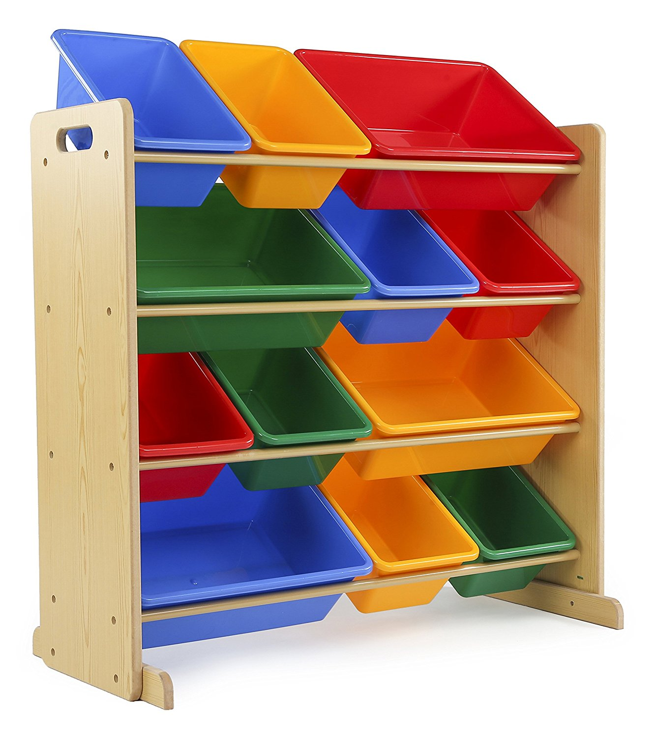 Amazon Best Seller Tot Tutors Kids Toy Storage Organizer With 12