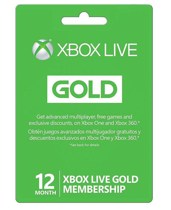 Black Friday Now 12 Month Xbox Live Gold Membership Card Just 42 99 Shipped Regularly 60
