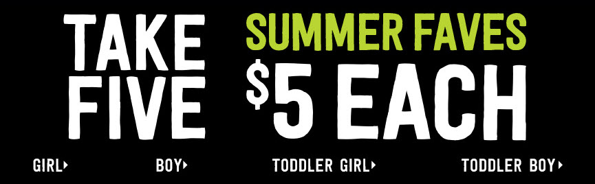 Crazy 8: $5 Kids' Tees, Leggings, Shorts, and More Plus FREE