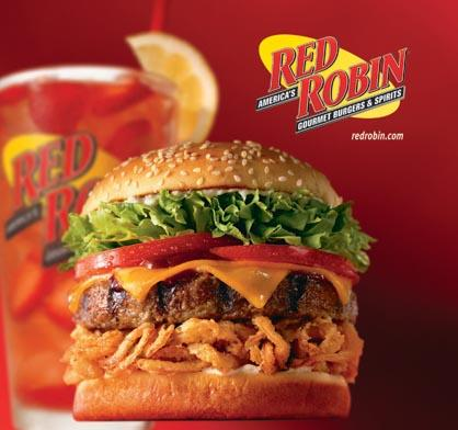 photograph about Red Robin Printable Coupons identified as Purple Robin: 35% off On line ToGo Orders