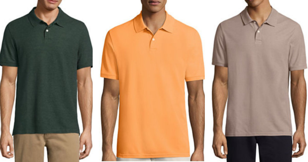 cf12aeff JCPenney: St John's Bay Men's Polo Shirts Just $6.66 Each (Regularly $26)