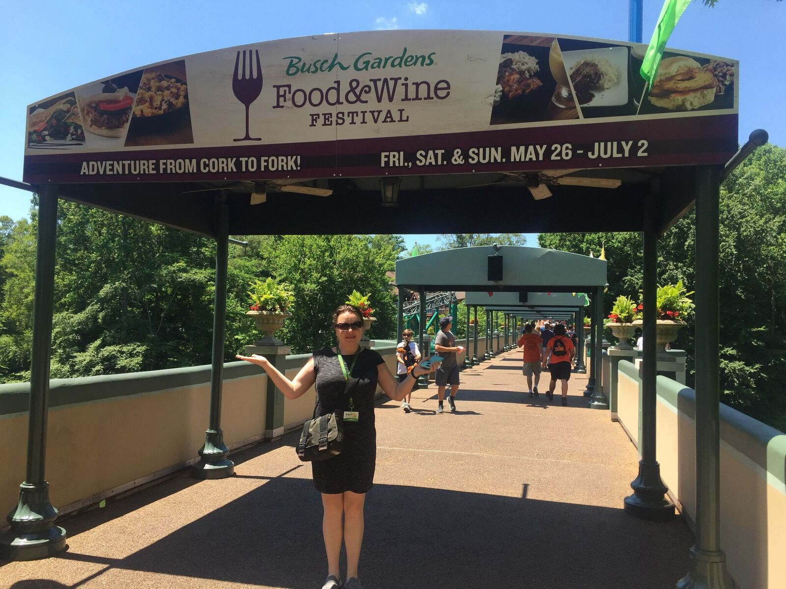 Busch Gardens Food And Wine Festival 2017 Missing Favorites And A Really Good New Dessert