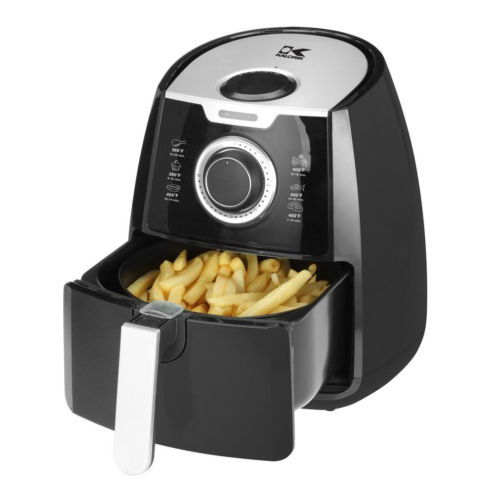 home depot kalorik 3 2 qt manual air fryer shipped. Black Bedroom Furniture Sets. Home Design Ideas