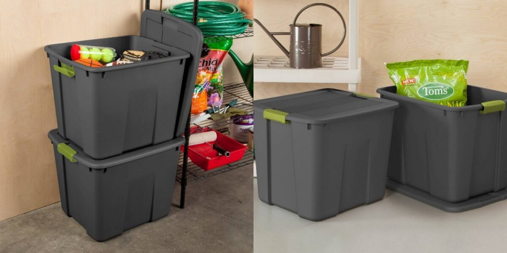 & Target: Sterilite 20 Gal Latching Storage Tote $5 (Store Pick Up Only)