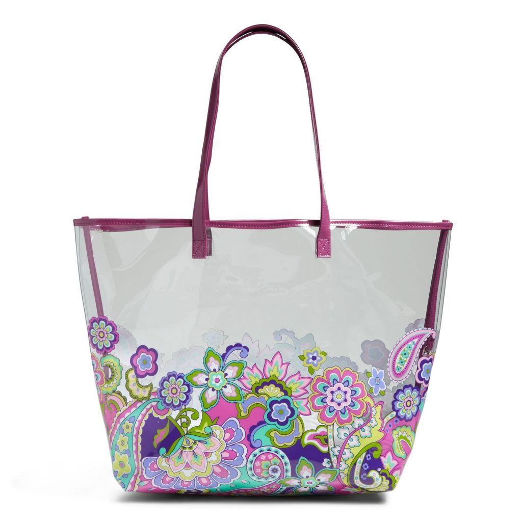 9b8b9ec90f Vera Bradley Clearly Colorful Tote Bag just  16.99 + Free Shipping!  (Several Prints Available)