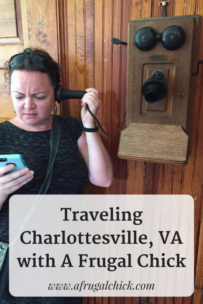 "The ""Other Places"" We Went In Our Charlottesville Travels- Where to eat, drink and be entertained in Charlottesville, VA on a budget!"