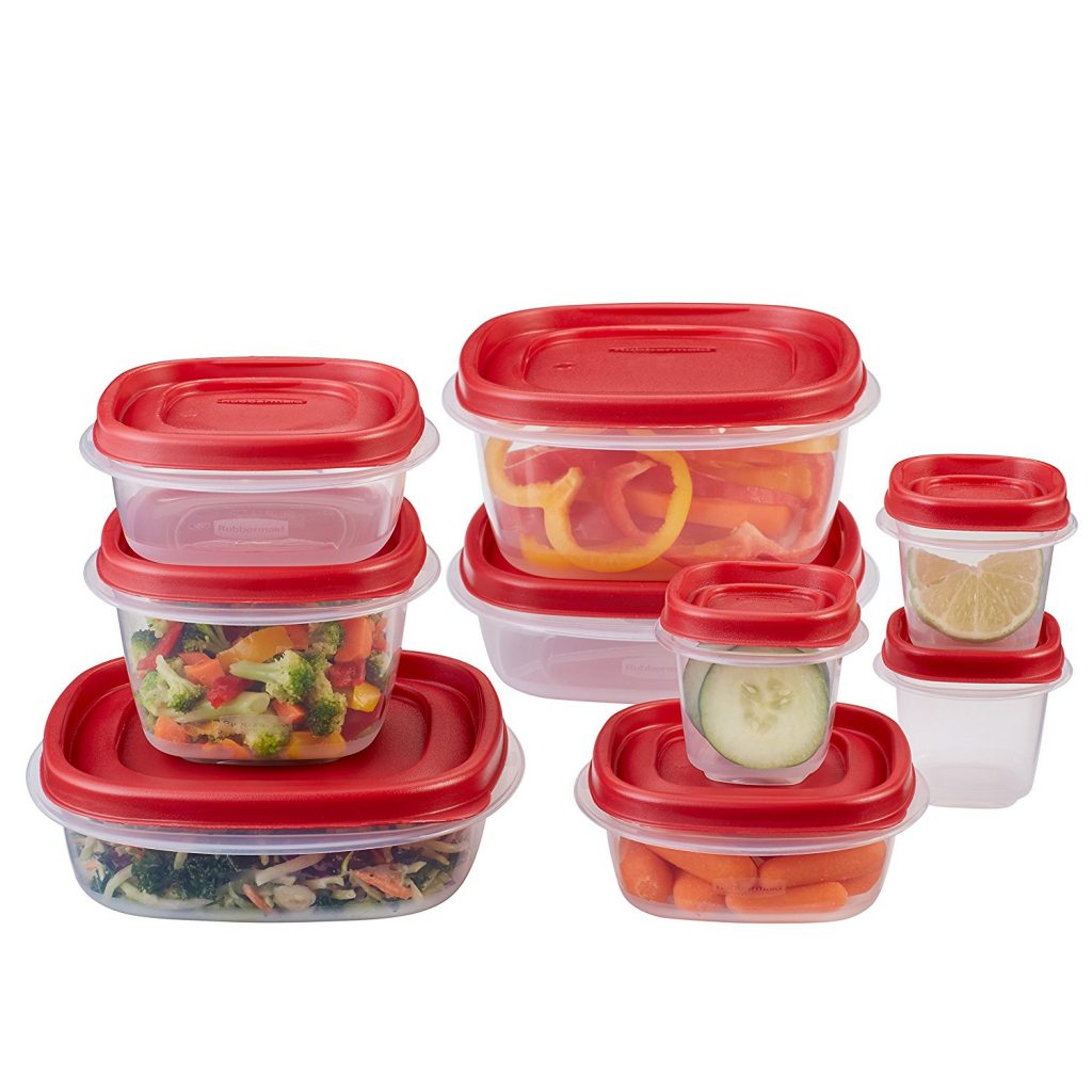 Amazon: Rubbermaid Easy Find Lids Food Storage Container