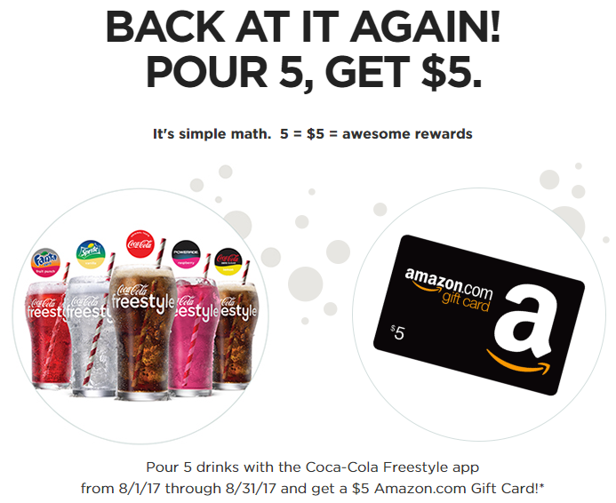 Get A 5 Amazon Gift Card From Coca Cola
