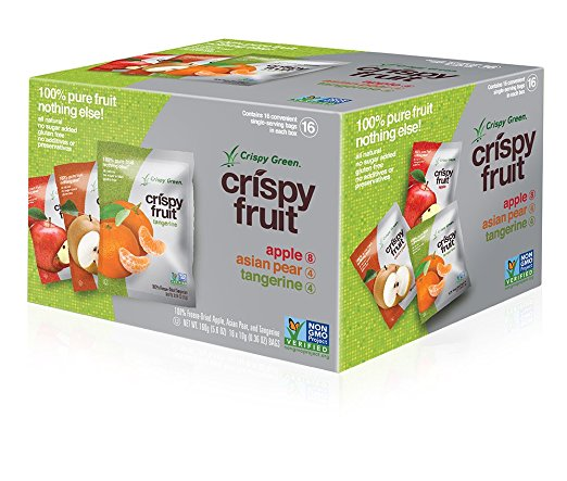 amazon lunchbox alert crispy green freezedried fruits 16count variety pack just shipped 83 per pack - Can You Freeze Pears