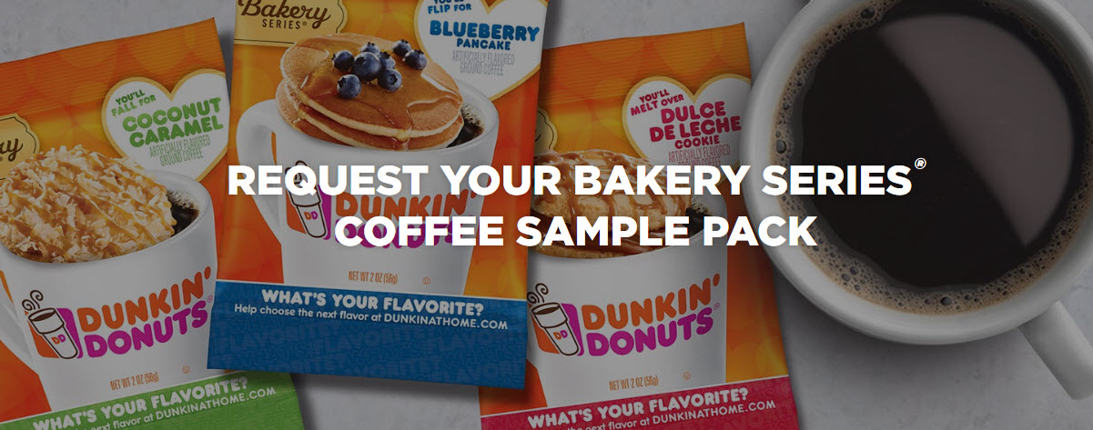 dunkin donuts bakery series sample