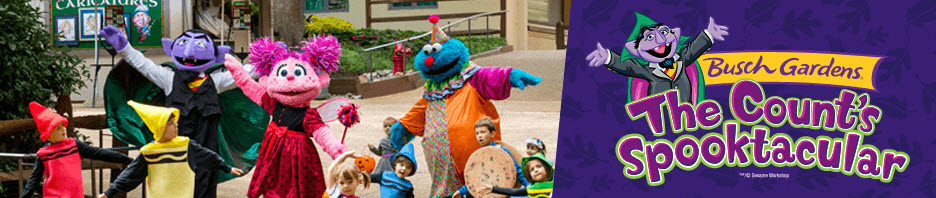 Busch gardens williamsburg save 50 off kids tickets to - Busch gardens williamsburg halloween ...