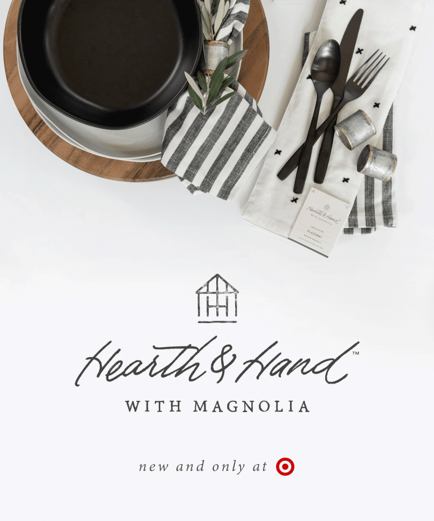 hearth hand with magnolia coming to target cue nerd