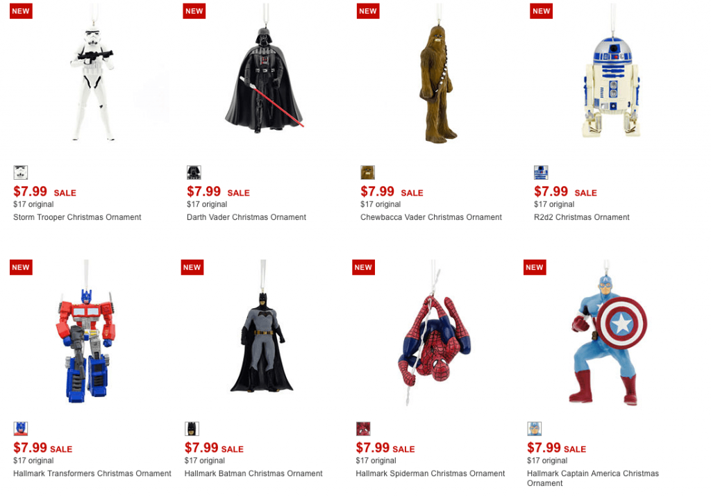 Hallmark, Star Wars & Peanuts Christmas Ornaments Only $5.99 Shipped (Reg.  $17) - Hallmark, Star Wars & Peanuts Christmas Ornaments Only $5.99 Shipped