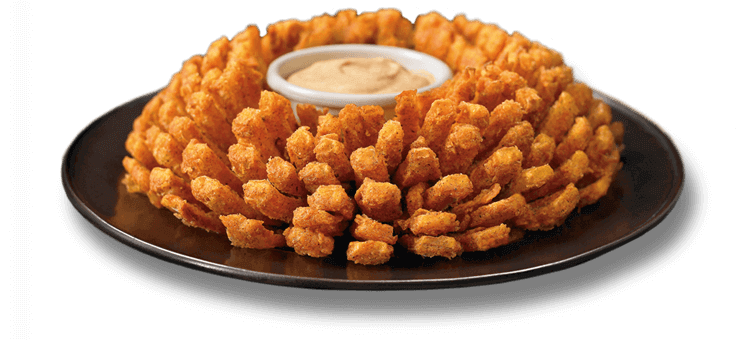 free bloomin onion day