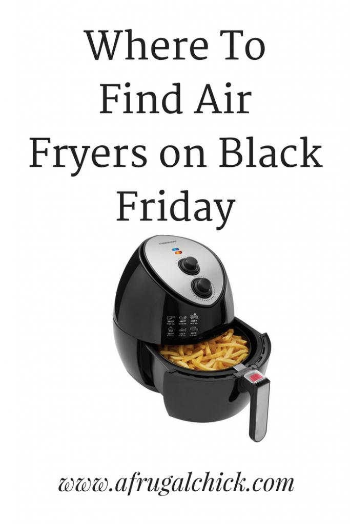Air Fryers on Black Friday