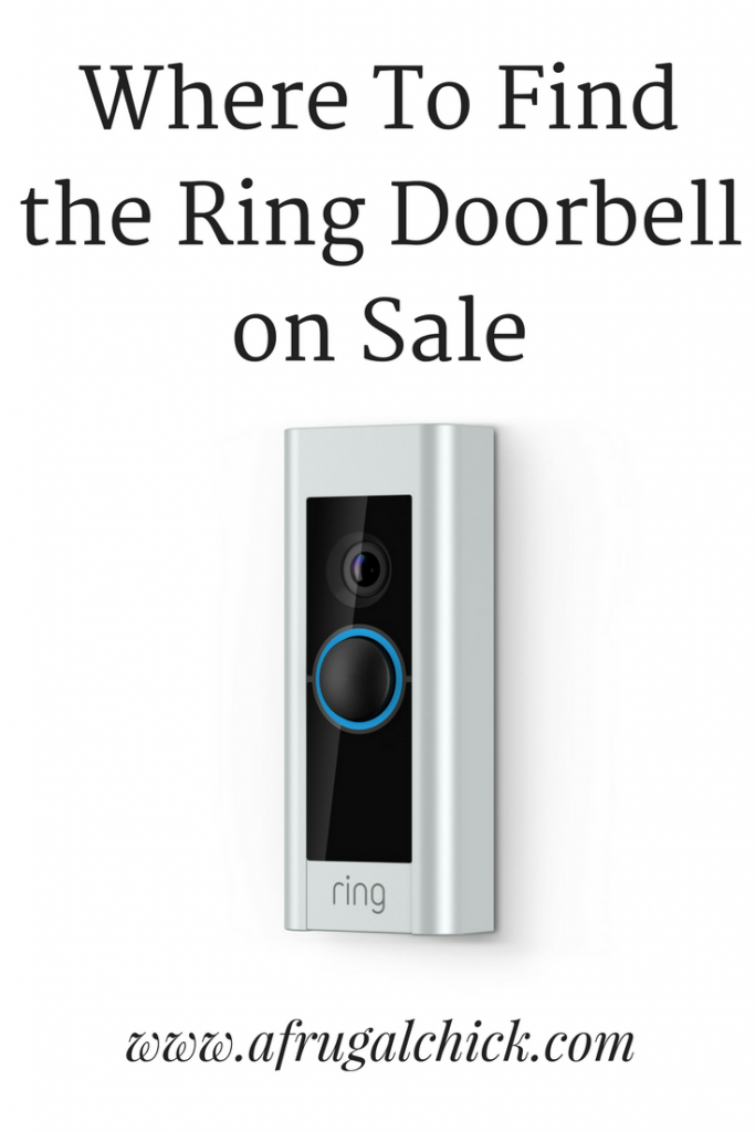 Where To Find Ring Doorbell on Sale