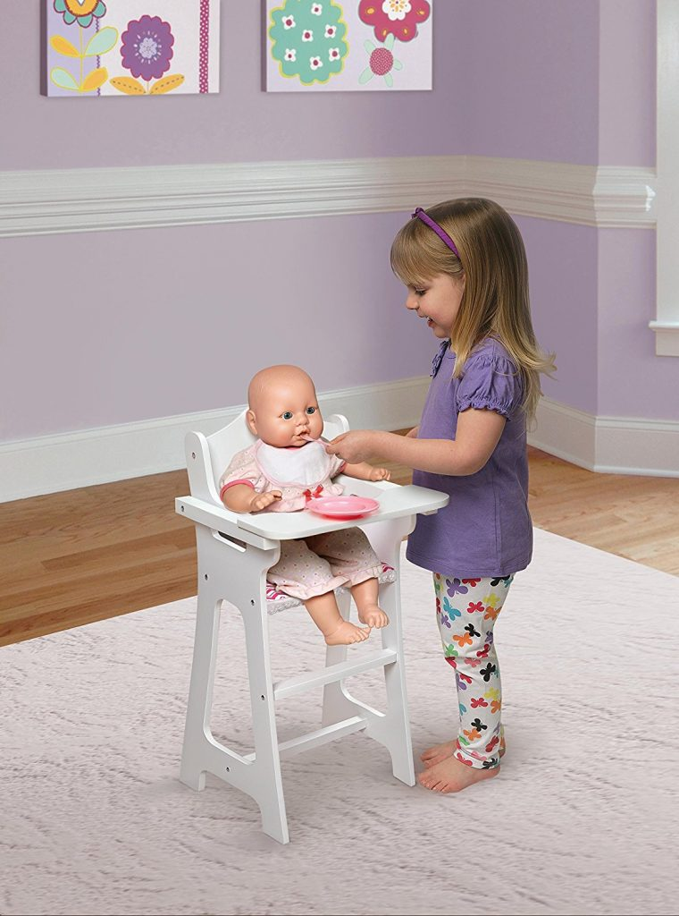 Perfect Right Now On Amazon You Can Grab This Badger Basket Doll High Chair With  Plate, Bib U0026 Spoon (Fits American Girl Dolls) On Sale. Itu0027s Rare To Find  Items That ...