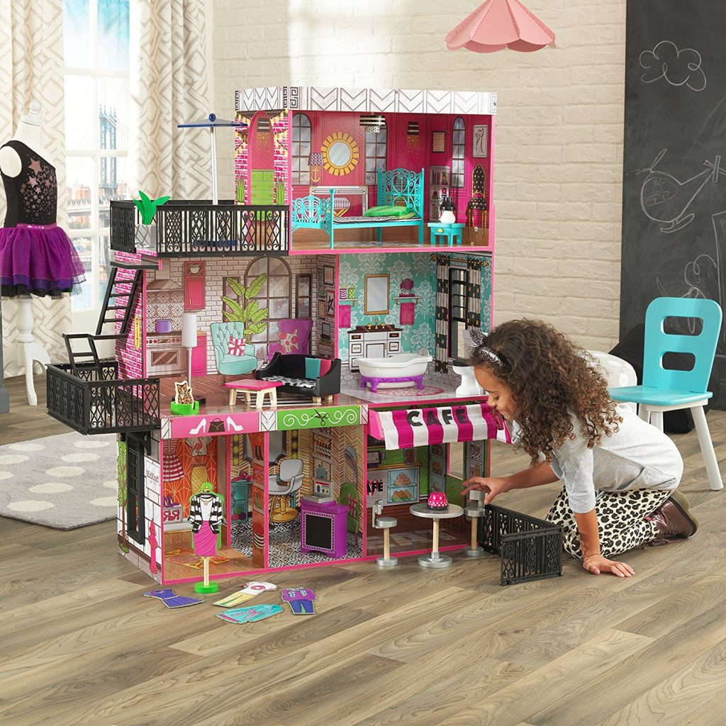 Dreams House Furniture: Amazon Lowest Price: KidKraft Brooklyn's Loft Doll House