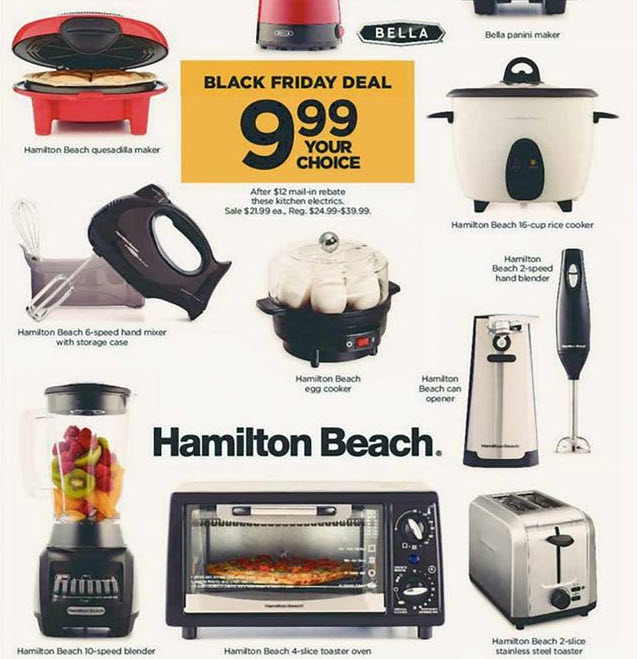Kohl's Black Friday is Live: 11 Kitchen Appliances Only $9.99 After ...