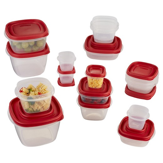 Target RedCard Members Rubbermaid Food Storage Container Set 34pc