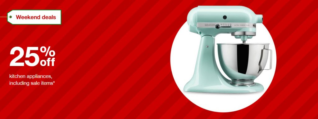 ENDS TODAY: Target: Extra 25% off Small Kitchen Appliances (Air ...