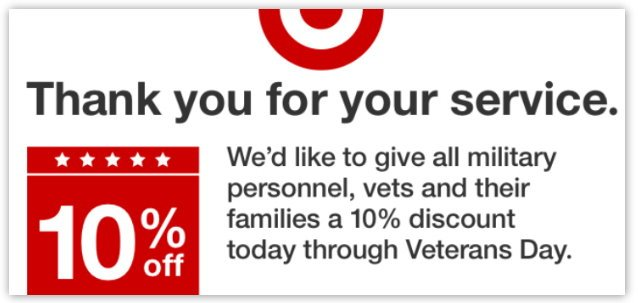 Our military members, veterans and families have given so much. Many merchants want to show their appreciation. Find merchants offering discounts to military, veterans and their families.