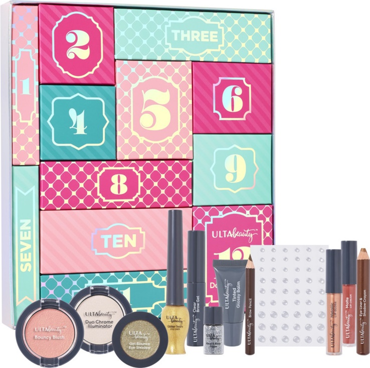 Ulta 12 Days of Beauty Advent Gift Box Just $14.50 ($74 Value)