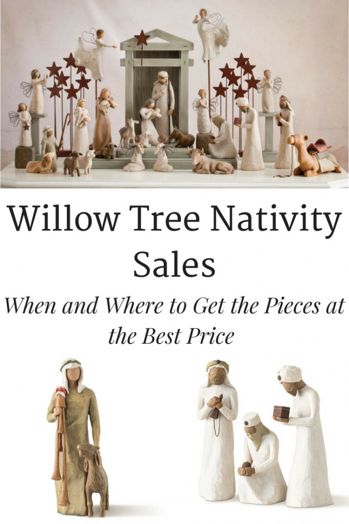 Willow Tree Nativity Sale- Many people would like to have these Willow Tree Nativity pieces in their home but they can get expensive. Check out where and when to find the pieces at the best price.