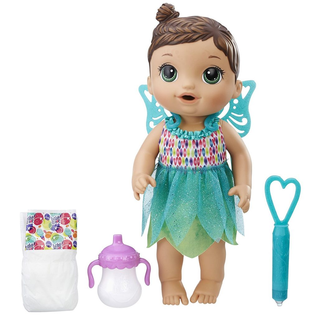 Amazon Lowest Price Baby Alive Face Paint Fairy Three Hair Colors To Choose From