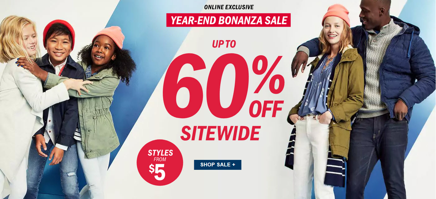 Old Navy: Save Up To 60% Off Plus Buy 3 Get 1 FREE on Clearance ...