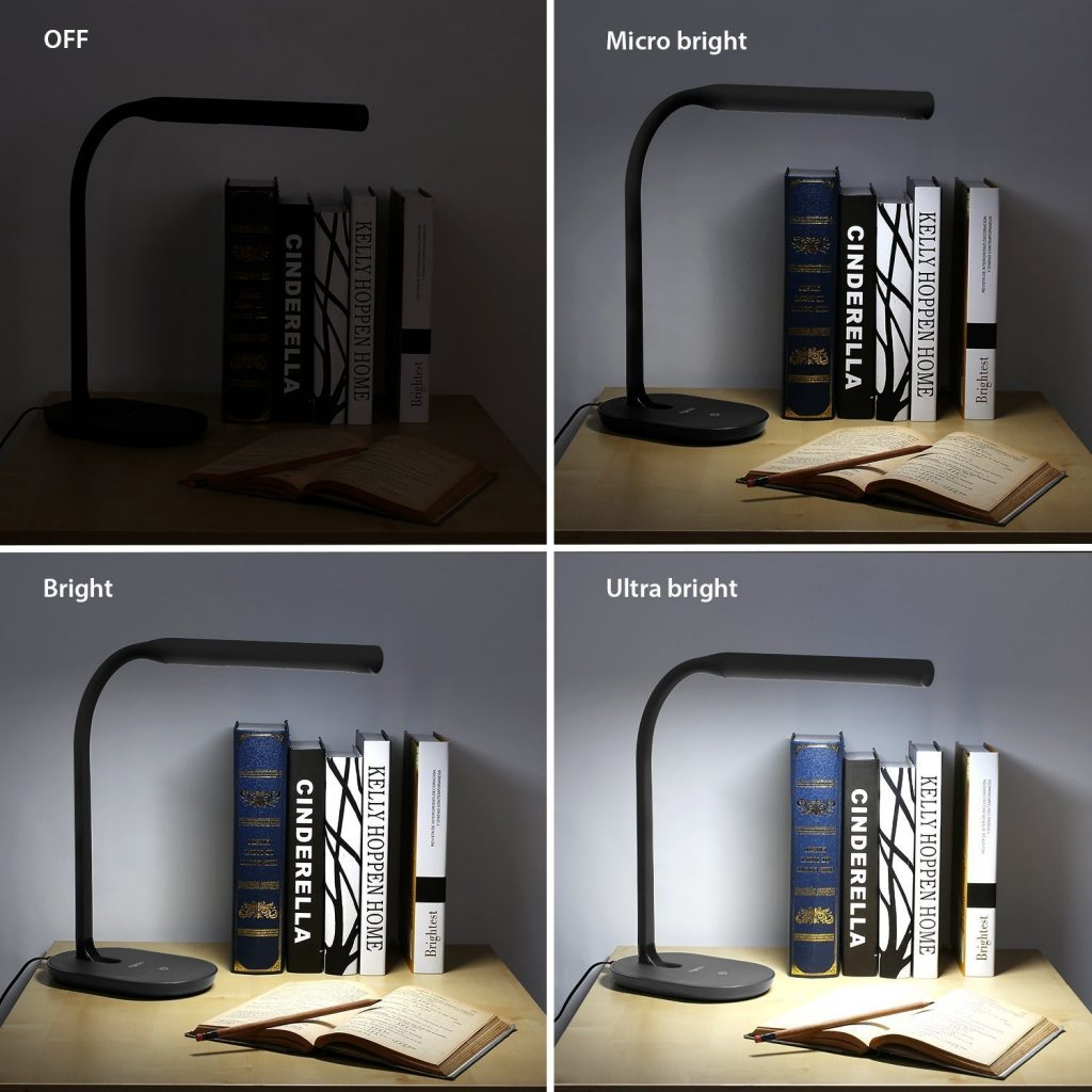 Desk Lamp Dimmable Reading Light With Usb Charging Port Only 9 90 After Code