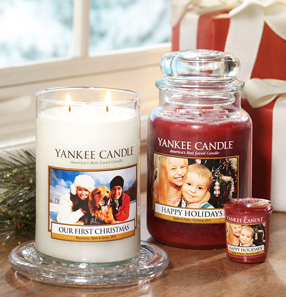 Personalize a Large Tumbler Candle, Large Classic Candle, or Large Yankee Candle® Elevation with Platform Lid candle. 2. PICK A FRAGRANCE. Get your Personalized Candles in time for Christmas. Order by December 14th with Standard Delivery or make one in store in minutes. CREATE YOURS.